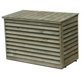 Cache climatisation en bois autoclave classe IV pour mono-split et multi-split