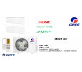 Ensemble  de climatisation tri-split Free Match Gree - 5 KW - R-32