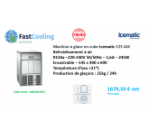 Machine à glace en cube Icematic E25 AIX