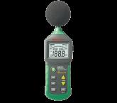 Sonomètre numérique avec température Mastech MS6702
