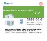 Pack Promo Split System Zanotti MDB123TO02 - 7m³