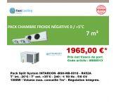 Pack Promo Split System Intarcon négatif -  BSH-NB-0018 - 7m³