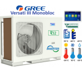 Pompe à chaleur monobloc air / eau GREE VERSATI III - 6,0 KW - 230/1/50